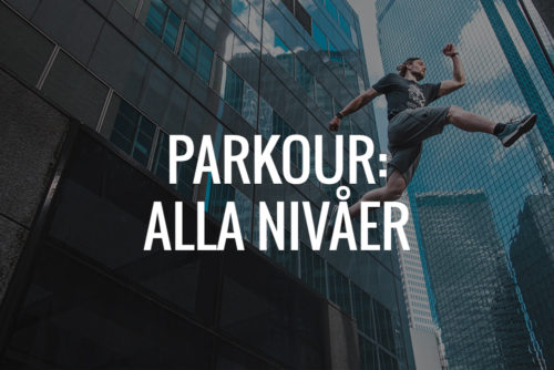 Träna Parkour med Quality Movement