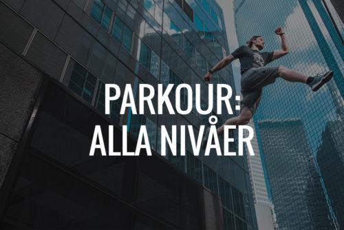 Träna Parkour med Quality Movement