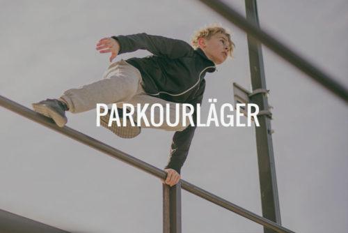 Träningsläger för barn. Parkourläger i Stockholm sommarlov 2020.