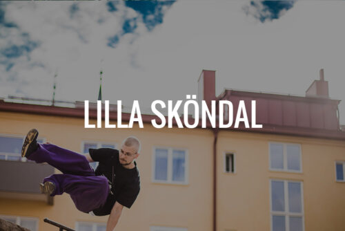Parkour för barn i Lilla Sköndal